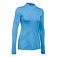 Womens Under Armour ColdGear Mock Long Sleeve Technical Tops