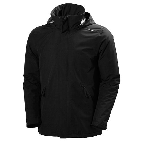 Mens Helly Hansen Royan Insulated Cold Weather Jackets - Black L
