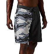 Mens Reebok ONE Series Camo Nasty 2 in 1 Unlined Shorts