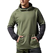 Mens Reebok ONE Series Delta OTH Half-Zips & Hoodies Technical Tops