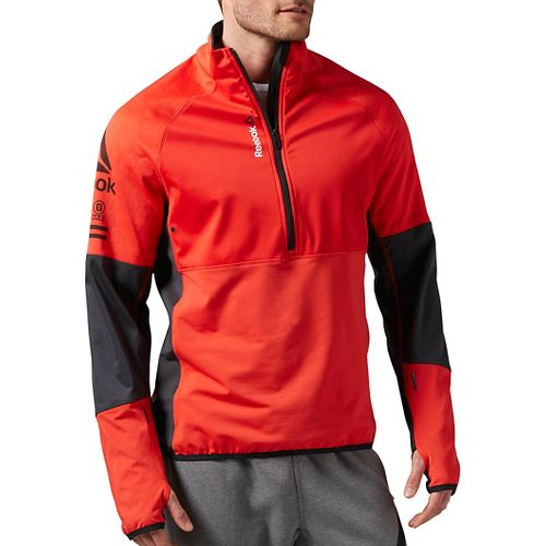 Men's Reebok�One Series Hex Thermal SpeedWick 1/4 Zip