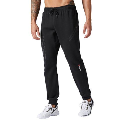 Mens Reebok ONE Series Quik Cotton Jogger Pants - Black XXL