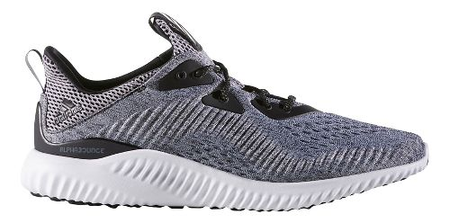 Mens adidas AlphaBounce EM Running Shoe - Core Black/White 7.5