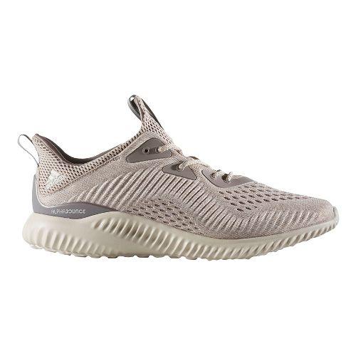 Mens adidas AlphaBounce EM Casual Shoe - Tech Earth/Brown 8.5