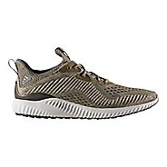 Mens adidas AlphaBounce EM Running Shoe - Olive 11.5