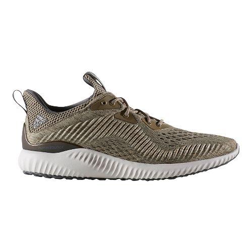 Mens adidas AlphaBounce EM Running Shoe - Olive 9