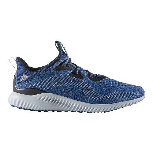 Mens adidas AlphaBounce EM Running Shoe - Navy/Grey 13
