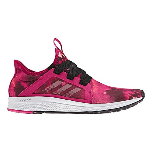 Womens adidas Edge Lux Running Shoe - Pink/Black 9.5