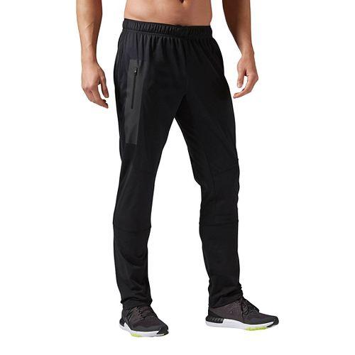 Mens Reebok One Series SpeedWick Thermal Pants - Black M