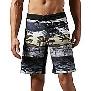 Mens Reebok One Series Winter Camo Sublimated Unlined Shorts