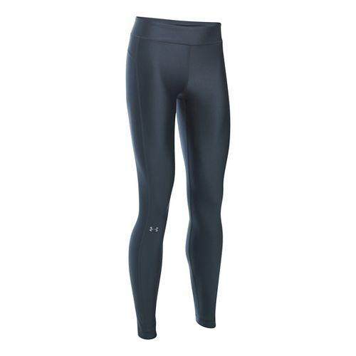 Womens Under Armour HeatGear Tights & Leggings Pants - Black XSR
