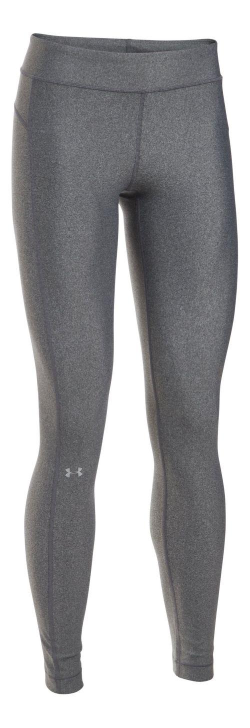Womens Under Armour HeatGear Tights & Leggings Pants - Black XXL-T