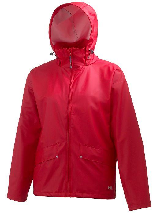 Mens Helly Hansen Voss Rain Jackets - Red L