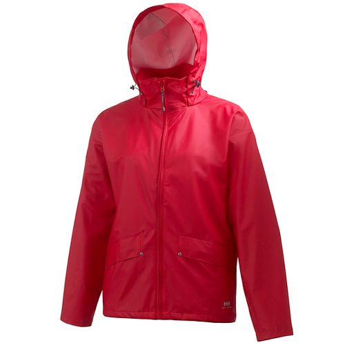 Mens Helly Hansen Voss Rain Jackets - Red L