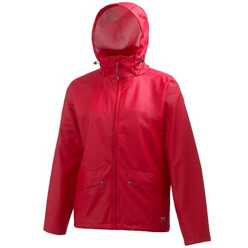 Mens Helly Hansen Voss Rain Jackets - Red S