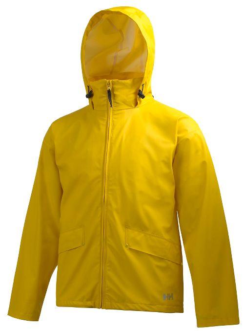 Mens Helly Hansen Voss Rain Jackets - Essential Yellow XXL