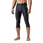 Mens Reebok Crossfit 3/4 Compression Tight Capris Pants