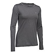 Womens Under Armour HeatGear Long Sleeve Technical Tops
