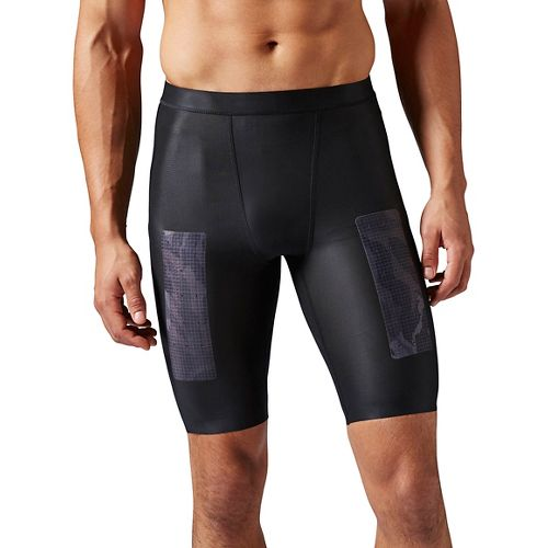Mens Reebok CrossFit Compression & Fitted Shorts - Black S