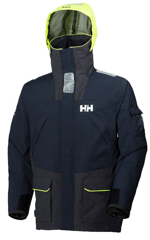 Mens Helly Hansen Skagen 2 Rain Jackets - Navy M