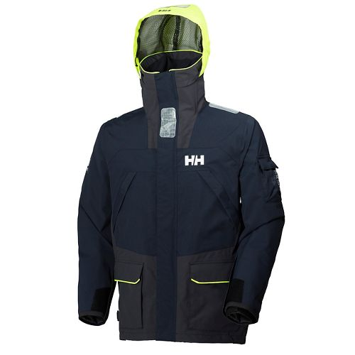 Mens Helly Hansen Skagen 2 Rain Jackets - Navy XXL