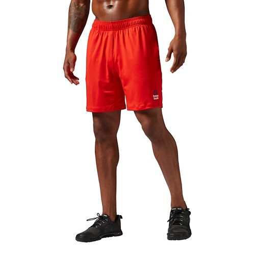 Mens Reebok Crossfit SpeedWick II Unlined Shorts - Red L