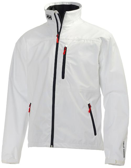 Mens Helly Hansen Crew Midlayer Cold Weather Jackets - Bright White M
