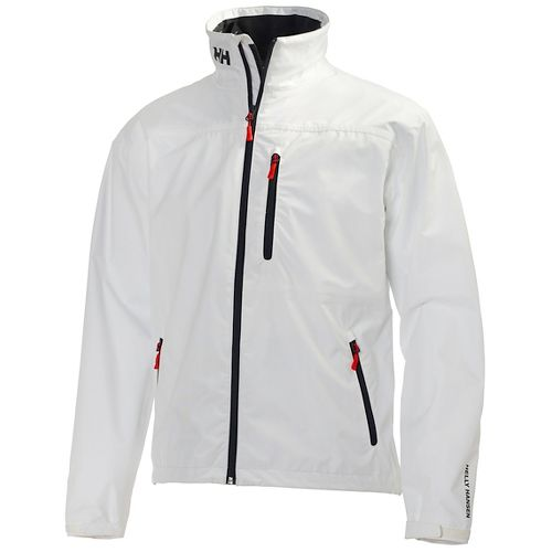 Mens Helly Hansen Crew Midlayer Cold Weather Jackets - Bright White XXL