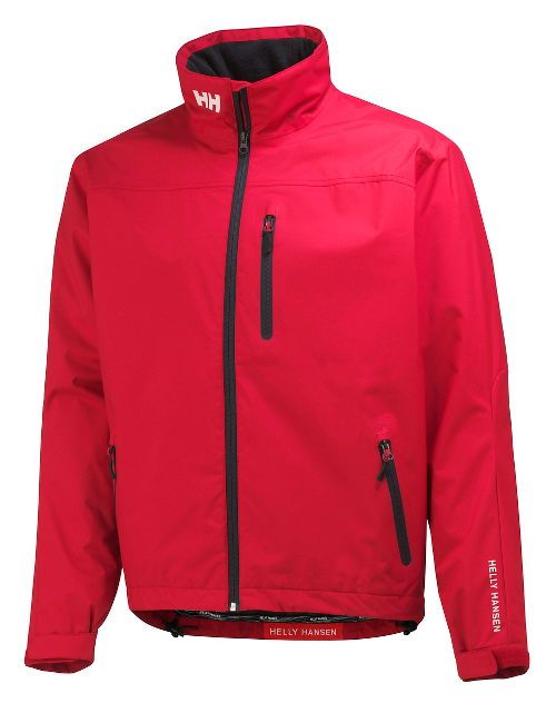 Mens Helly Hansen Crew Midlayer Cold Weather Jackets - Red S