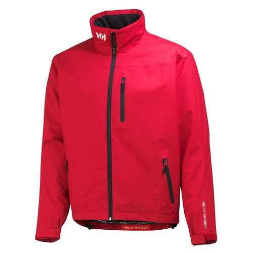 Mens Helly Hansen Crew Midlayer Cold Weather Jackets - Red L