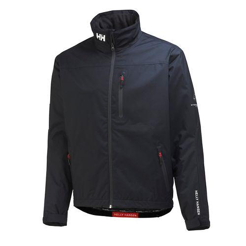 Mens Helly Hansen Crew Midlayer Cold Weather Jackets - Navy XXL