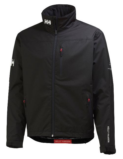 Mens Helly Hansen Crew Midlayer Cold Weather Jackets - Black M