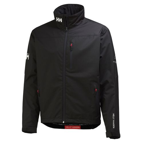 Mens Helly Hansen Crew Midlayer Cold Weather Jackets - Black M