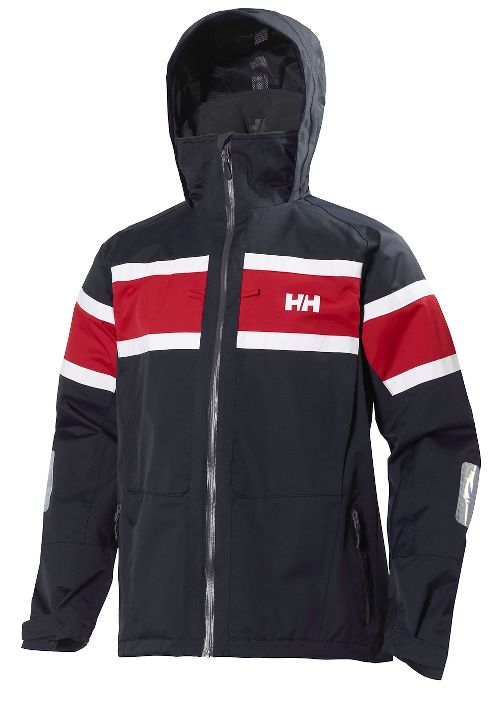 Mens Helly Hansen Salt Cold Weather Jackets - Navy M