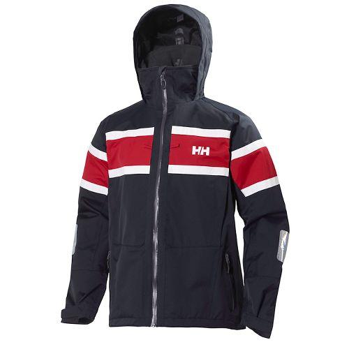 Mens Helly Hansen Salt Cold Weather Jackets - Navy M