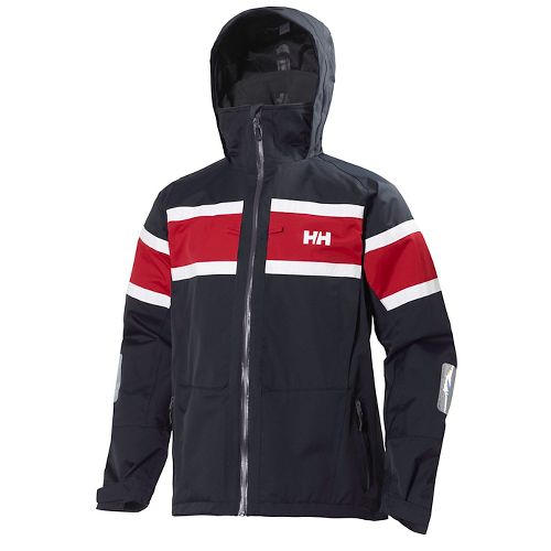 Mens Helly Hansen Salt Cold Weather Jackets - Navy S