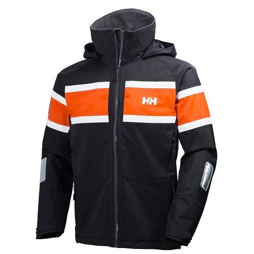 Mens Helly Hansen Salt Cold Weather Jackets - Ebony S