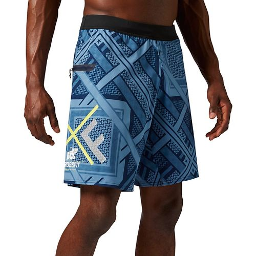 Mens Reebok Crossfit Super Nasty Speed Unlined Shorts - Navy S