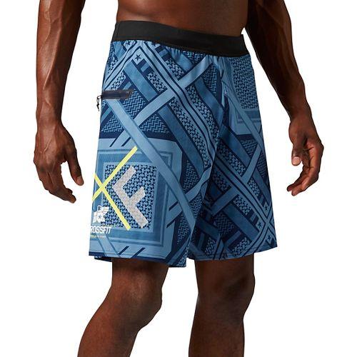 Mens Reebok Crossfit Super Nasty Speed Unlined Shorts - Navy XS