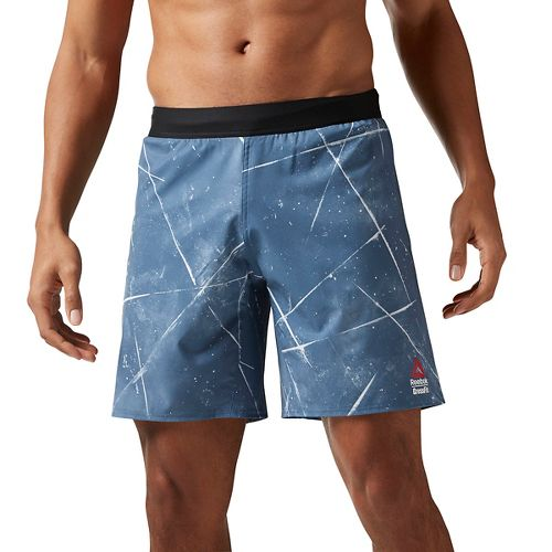 Mens Reebok Crossfit Super Nasty Speed Unlined Shorts - Blue L