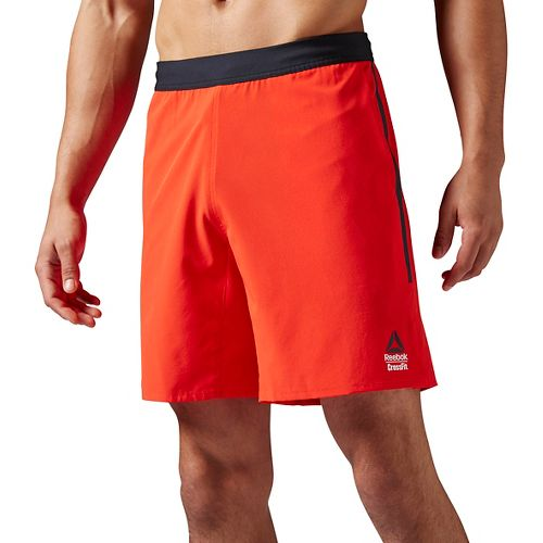 Mens Reebok CrossFit Super Nasty Speed II Unlined Shorts - Red L
