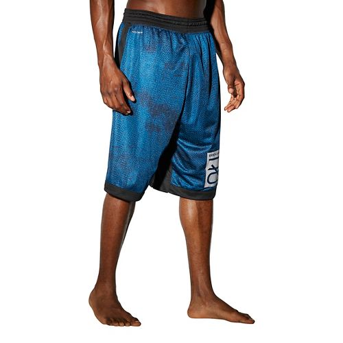 Mens Reebok RNF Boxing LG 13 Inch Unlined Shorts - Blue L
