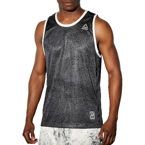 Mens Reebok RNF Boxing Sleeveless & Tank Technical Tops - Grey M