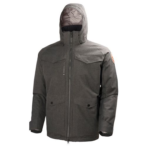 Mens Helly Hansen Arctic Chill Parka Cold Weather Jackets - Ebony S