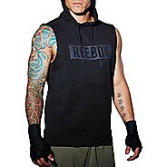 Mens Reebok TLAF Hoody Sleeveless & Tank Technical Tops