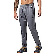 Mens Reebok Workout Ready Stacked Logo Trackster Pants