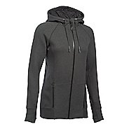 Womens Under Armour Varsity Fleece Full-Zip Hoodie & Sweatshirts Technical Tops