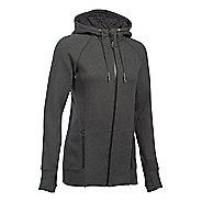 Womens Under Armour Varsity Fleece Full-Zip Hoodie & Sweatshirts Technical Tops