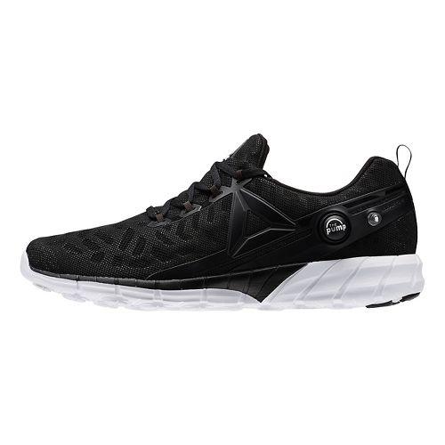 Mens Reebok ZPump Fusion 2.5 Running Shoe - Black/Coal 6.5