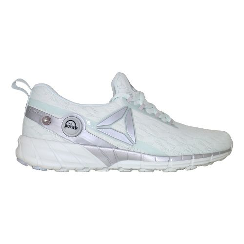 Mens Reebok ZPump Fusion 2.5 LE Running Shoe - White/Silver 10.5